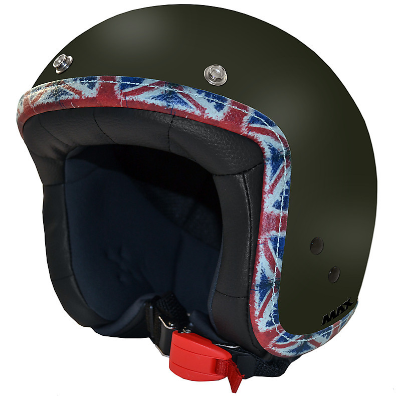 Jet Flag Helmet green matte-UK MAX - Helmets