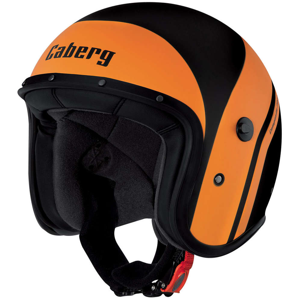 Jet Freeride Mistral black matt-orange Helmet  Caberg