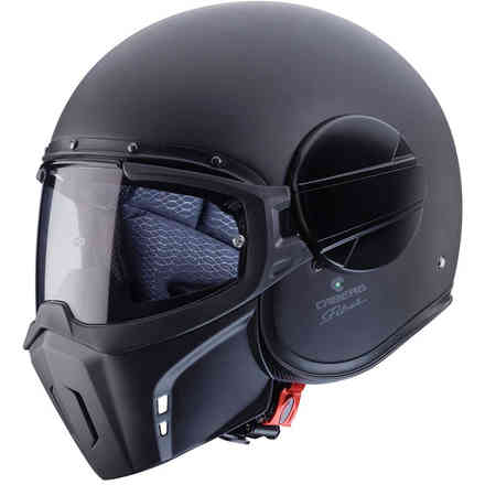 Jet Ghost helmet matt black Caberg