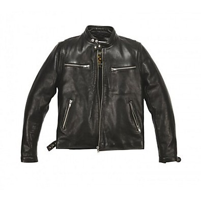 Jet leather Jacket Helstons