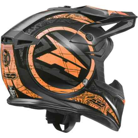 Jump helmet black orange Axo