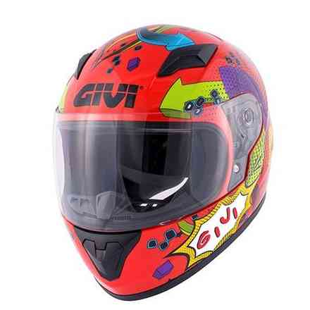 Junior 4 Helmet Red Givi