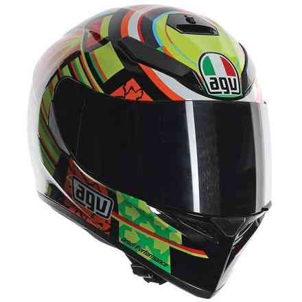 K-3 Sv Elements pinlock Helmet Agv