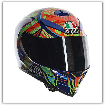 K-3 Sv Five Continents Helmet Agv