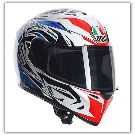 K-3 Sv Rookie Red-Blue Helmet Agv