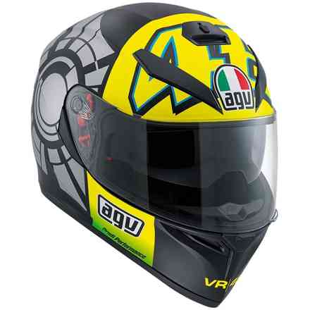 K-3 Sv Winter Test 2012 pinlock Helmet Agv