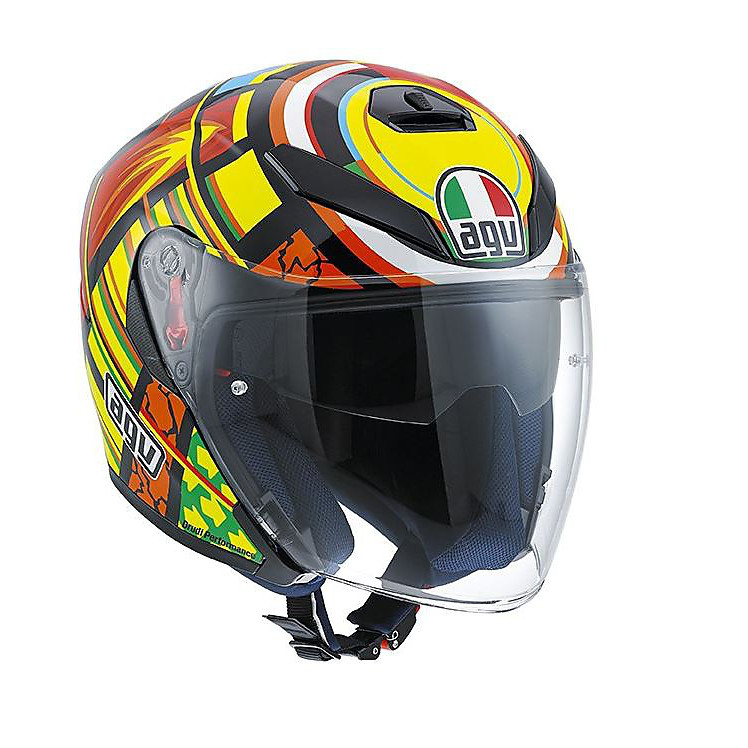 K-5 Jet Top Elements Helmet Agv