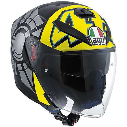 K-5 Jet Top  Winter Test 2012 Helmet Agv