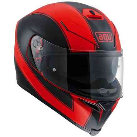 K-5 S Enlace black red Helmet Agv