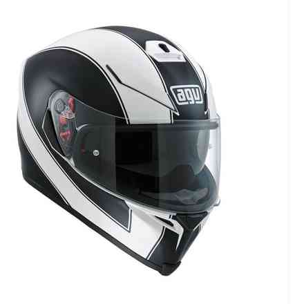 K-5 S Enlace black white Helmet Agv