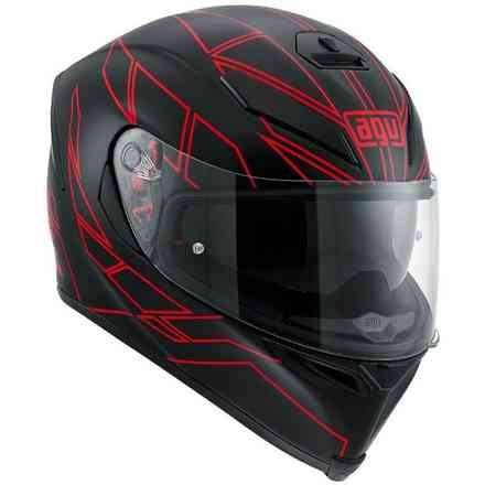 K-5 S Hero black red Helmet Agv