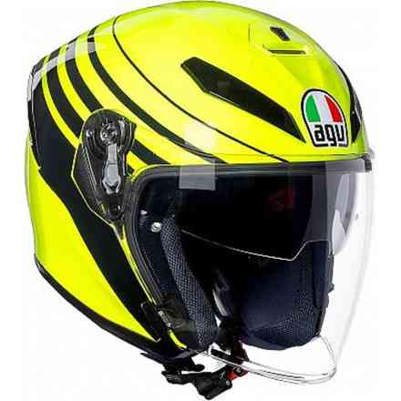 K5 Jet Multi Orbiter yellow-black helmet Agv
