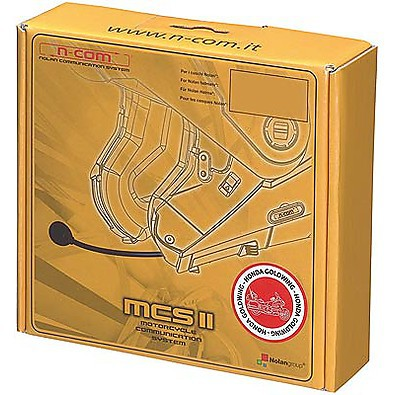 Kit Mcs II Honda Goldwing  N103/91/90/86/85/71/43 N-com nolan comunication system