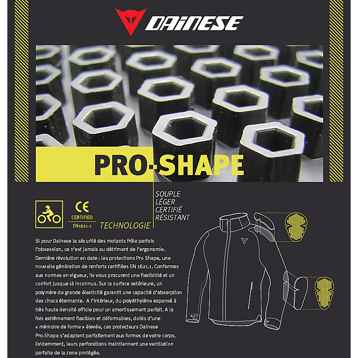 KIT PROSHAPE Knee/Elbow Dainese