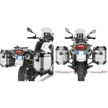 Koffer Lateral Bmw G650GS (11-13) Givi