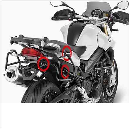 Koffer Side '15 BMW F800R Givi