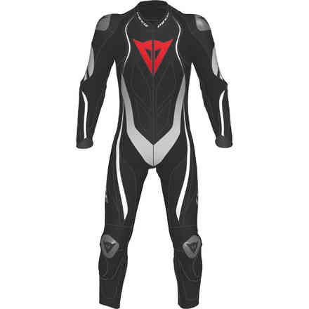 Kyalami 1pc Perforated black white Dainese
