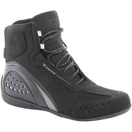 Lady Shoes Motorshoe perforated black Dainese