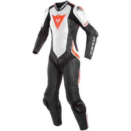 Laguna Seca 4 1pc Perforated leather suit Lady  Dainese