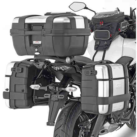 Lateral luggage holder for Versys 650 (15> 18) Givi
