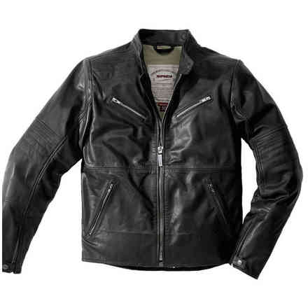 leather jacket Garage Robust Blk Spidi