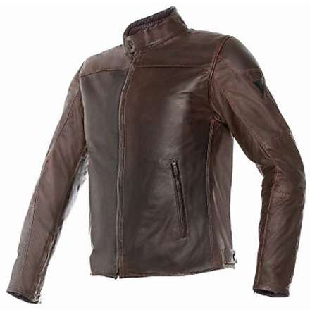 Leather jacket Mike brown Dainese