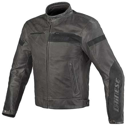 Leather jacket Stripes evo C2 Dainese