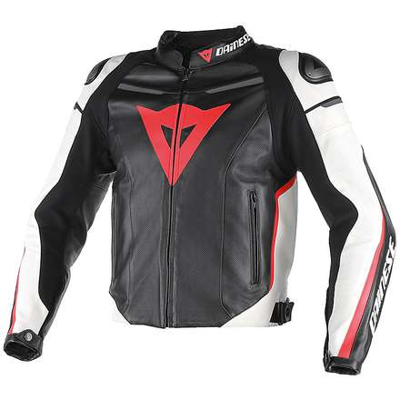 Leather jacket Super Fast traforated Dainese