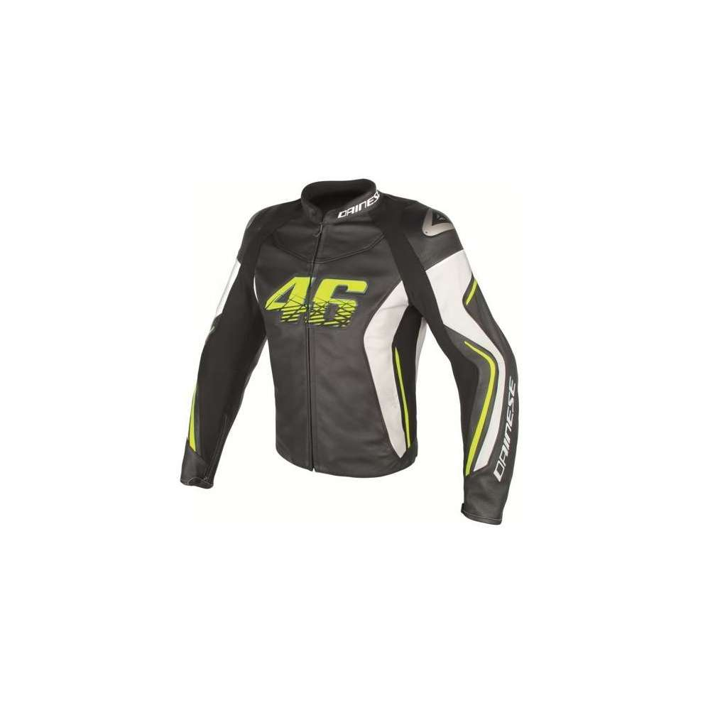 Leather jacket VR46 D2 Dainese