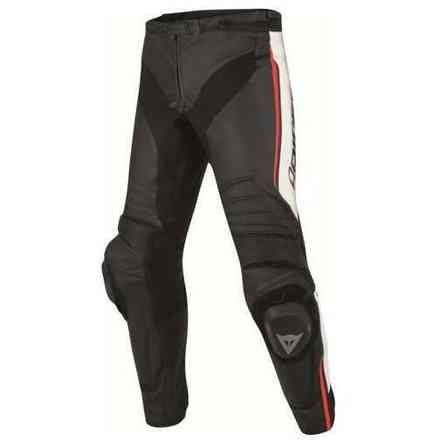 Leather perforated pants Misano Dainese