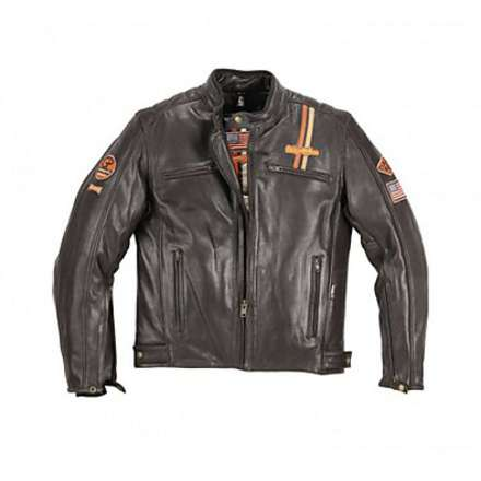 Lederjacke Force Usa Helstons
