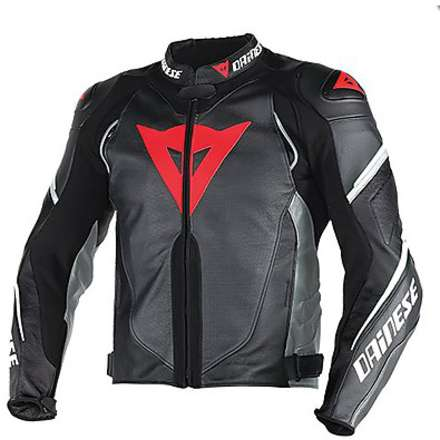 Lederjacke Super speed D1 perforiert  Dainese