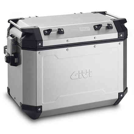 Left Side Suitcase 48 Lt OBK New Aluminum Givi