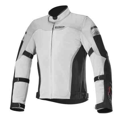 Leonis Drystar Air jacket black light gray Alpinestars