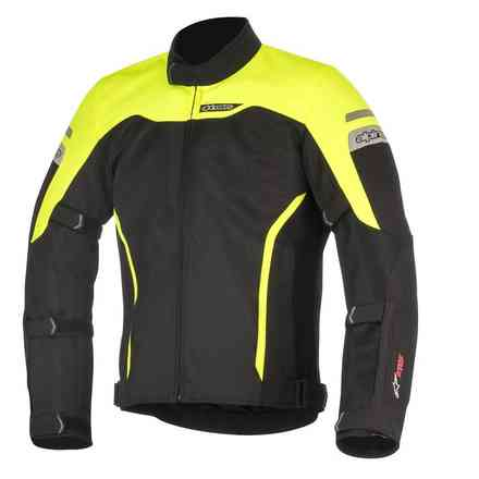 Leonis Drystar Air jacket black yellow fluo Alpinestars