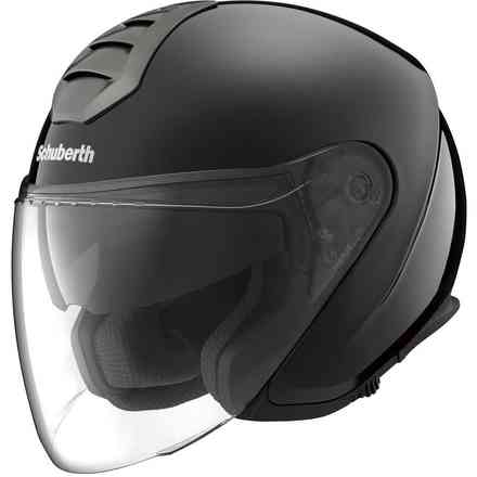 M1 Berlin black helmet Schuberth