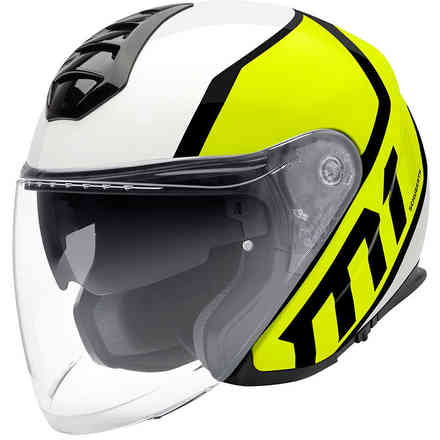 M1 Flux Yellow Helmet Schuberth