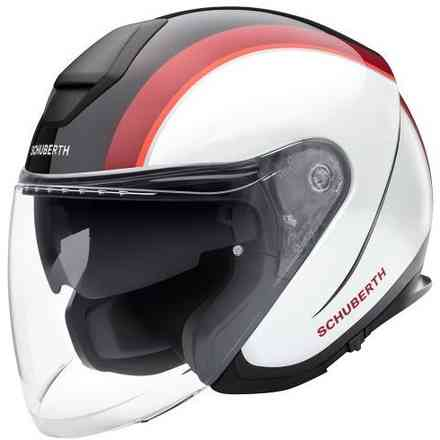M1 Pro Ece Outline Roter Helm Schuberth