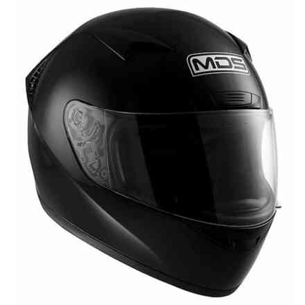M13 Solid black Helmet Mds