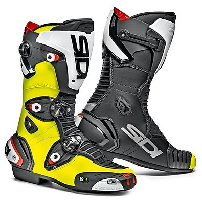 Mag-1 Fluorescent Yellow-Black Boots Sidi