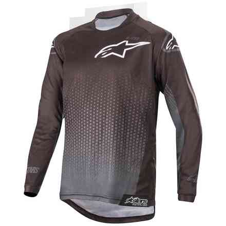Maglia Alpinestars  Youth Racer Graphite  Nero - Antracite Alpinestars