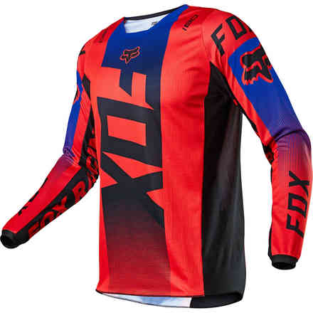 Maglia Cross Fx 180 Oktiv Fluorescent Red Fox