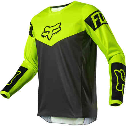 Maglia Cross Fx 180 Revn Jersey Fluorescent Yellow Fox