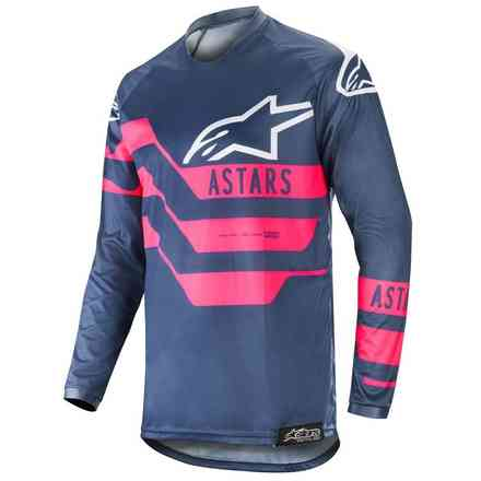 Maglia Cross Racer Flagship Indigo Dark Navy  Alpinestars