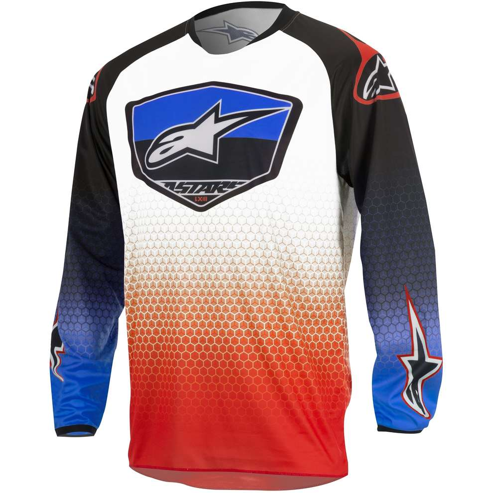 Maglia cross Racer Supermatic Alpinestars