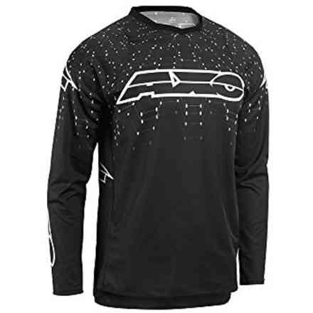 Maglie Galaxy Black/White Axo