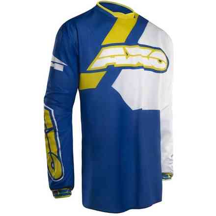 Maglie Trans-Am Blu/Yellow Axo