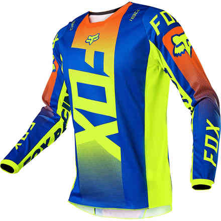 Maillot Cross Fx 180 Oktiv Bleu Fox