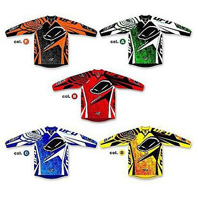 Maillot Garcon Mx 22 2012 Red Ufo