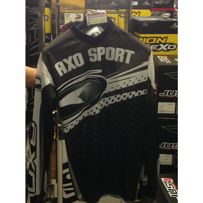 Maillot Mx store gris Axo
